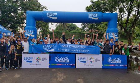 Sukseskan Asian Games 2018 bersama SMA Dwiwarna dan Pocari Sweat