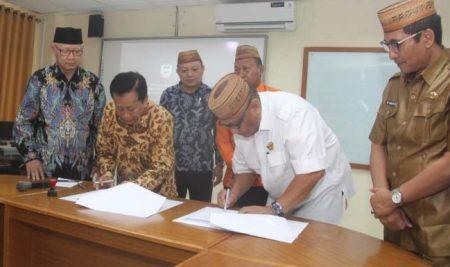 Jalin Kerjasama, Dwiwarna Lanjutkan MoU dengan Pemprov Gorontalo
